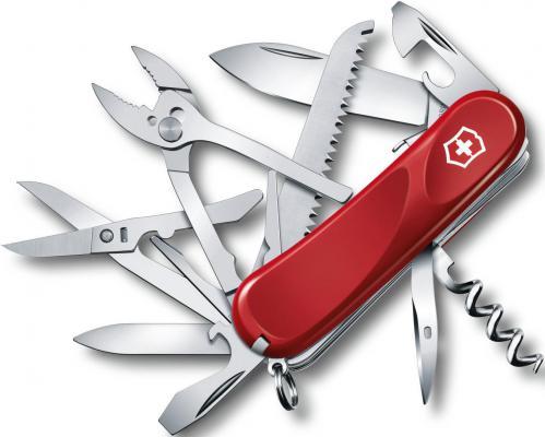 Нож перочинный Victorinox Evolution S52 2.3953.SE 85мм 19 функций красный