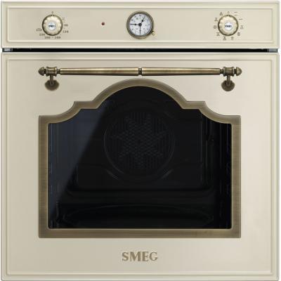 Электрический шкаф Smeg SF750PO кремовый (фурнитура латунная) smeg srv864pogh