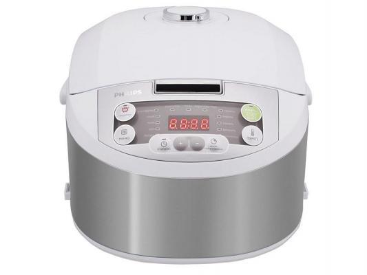 Мультиварка Philips HD3136/03 980Вт 4л пластик белый philips hu5930 00 увлажнитель 4л