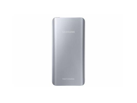 Портативное зарядное устройство Samsung EB-PN920USRGRU 5200mAh универсальный microUSB серебристый