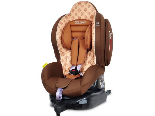 Автокресло Welldon New Smart Sport Side Armor & Cuddle Me (mocha)