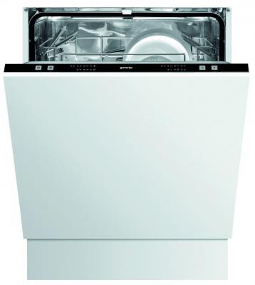 Посудомоечная машина Gorenje GV61211 белый посудомоечная машина gorenje gv66260 белый