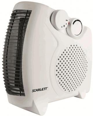 Тепловентилятор Scarlett SC-FH53001 2000 Вт ручка для переноски белый
