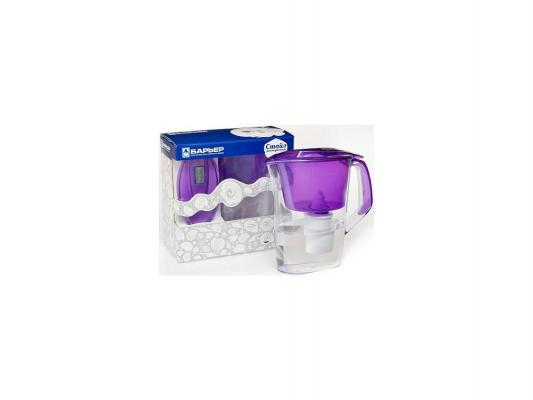 Фильтр для воды Барьер Стайл жемчужный/фиолетовый