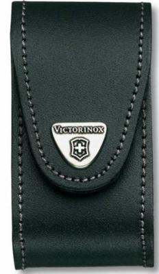 Чехол Victorinox 4.0521.3B1 для ножей 91мм 5-8 уровней с застежкой Velkro кожа черный