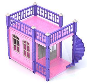 Дом для кукол Нордпласт Замок Принцессы 1 этаж  590/2 нордпласт ведро форма замок нордпласт
