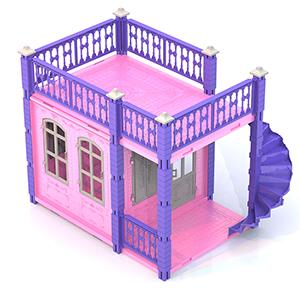 Дом для кукол Нордпласт Замок Принцессы 1 этаж  590/2
