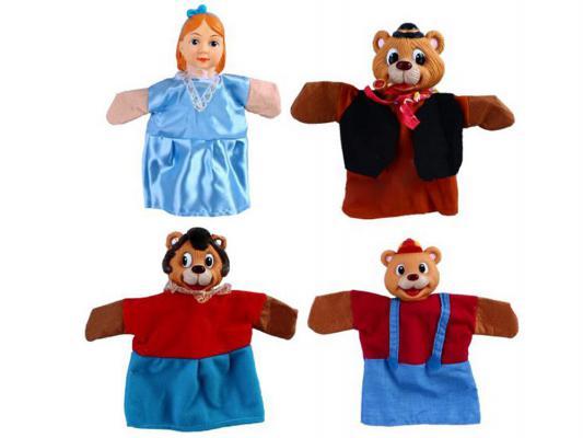 Игровой набор Жирафики Кукольный Театр - Три медведя 4 предмета 68315 набор для кукольного театра жирафики волшебник изумрудного города кукольный театр