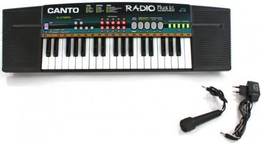 Синтезатор Shantou Gepai 37 клавиш, радио, микрофон HL-3788FM