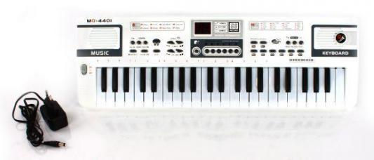 Купить Синтезатор Shantou Gepai MQ4401, белый, Детские музыкальные инструменты