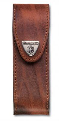Чехол Victorinox 4.0548 для ножей 111мм толщиной 4-6 уровней кожа коричневый