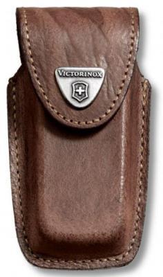 Чехол Victorinox 4.0535 для ножей 91мм толщиной 5-8 уровней кожа коричневый