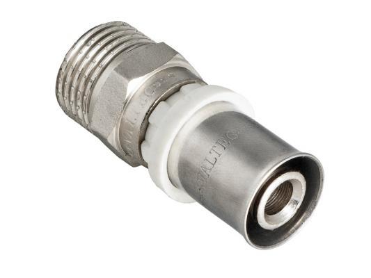 Соединитель пресс с переходом на  нар. р. 20х1/2 3 pin curved screw terminal block connectors green 20 piece pack