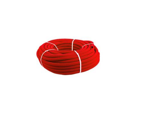 КОЖУХ для трубы 16 (диаметр 25) красный 50м