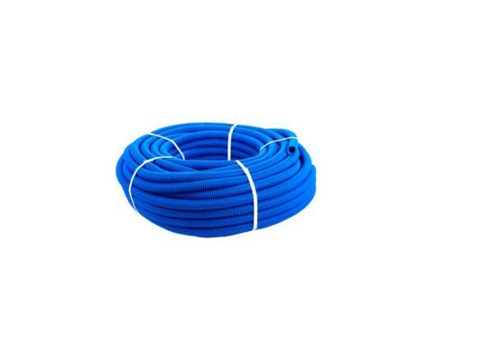 КОЖУХ для трубы 20 (диаметр 32) синий 50м