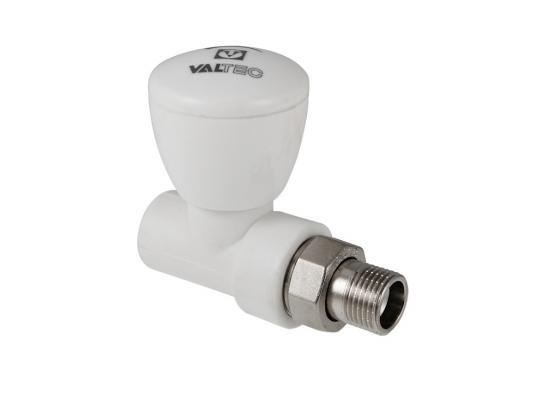 Клапан PPR для подключения радиатора прямой 25х3/4 клапан полипропиленовый для радиатора valtec 25х3 4 нр прямой с американкой