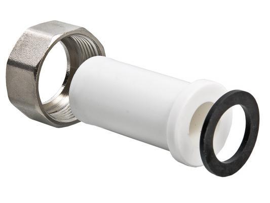 Штуцер PPR с накидной гайкой вн. р. 25х1 штуцер д счётчика воды с накидной гайкой 1 2 2шт