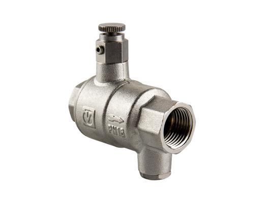 Обратный клапан с дренажем и воздухоотводчиком 3/4 обратный клапан для воды 3 4 в спб