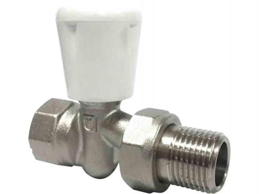 Клапан ручной для рад. прямой 1/2 комплект ручной регулировки для радиатора aqualink 1 2 прямой клапан ручной клапан запорный mp