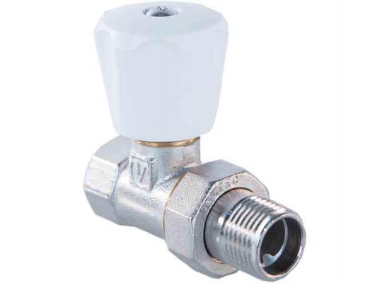 Клапан ручной прямой 1/2 (компактный) комплект ручной регулировки для радиатора aqualink 1 2 прямой клапан ручной клапан запорный mp