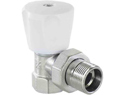 Клапан ручной угловой 1/2 (компактный) комплект ручной регулировки для радиатора aqualink 1 2 угловой клапан ручной клапан запорный mp