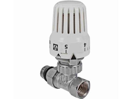 """Клапан с термостатической головкой для рад. прямой 1/2"""""""