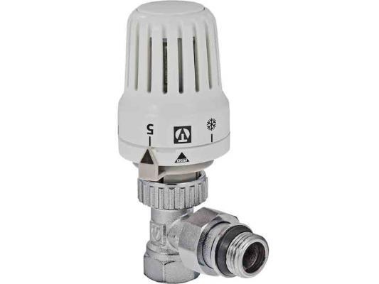 """Клапан с термостатической головкой для рад. угловой 1/2"""""""