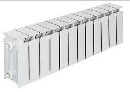 Радиатор комб.-й. TENRAD AL/BM 150/120 12-секций цена и фото