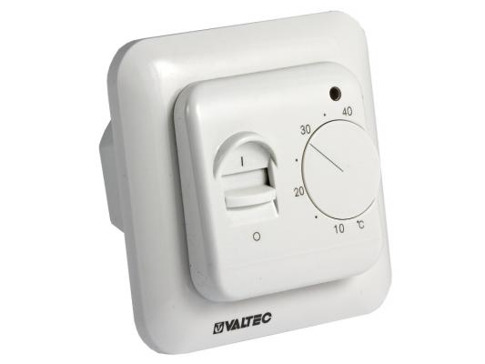 Термостат комнатный с датчиком температуры пола (НЗ сервопривод–отопл., НО-охл. конд.)