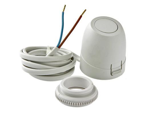 Электротерм-ий серв-вод, питание 24 В, (нормально открытый) цена