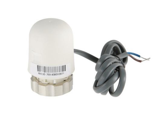 Электротермический сервопривод, норм. ЗАКР., питание 24 В, watts модуль управляющий базовый wfhc 4зон 24в закр сервопривод master