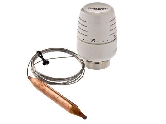 Термоголовка с выносным погружным датчиком (диап. Регул-ки 20-60С) 2м.