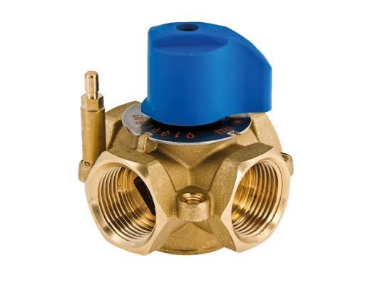 Четырехходовой смесительный клапан 1