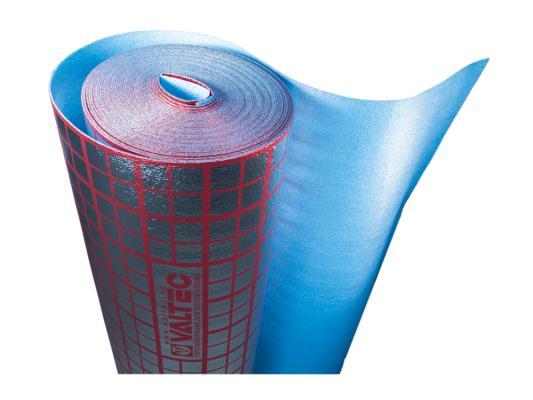 Подложка для теплого пола VALTEC, мультифольга 3мм. VALTEC VT.HS.FP.0312 рулон 30м2 труборез valtec