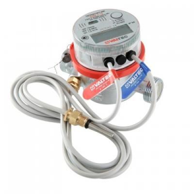 Теплосчетчик квартирный, с тахометрическим расходомером (для установки на обратный трубопровод) (Qn=