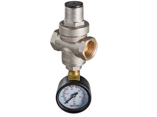 Редуктор давления поршневой с манометром, от 0,5 до 5,5 бар 1/2 stout 1 2 редуктор давления компенсационного действия