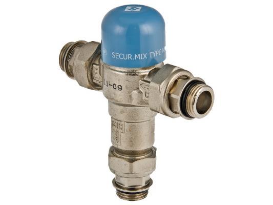 Трехходовой термостатический смесительный клапанThermomix 1/2 (не регул.) клапан трехходовой смесительный 1 с боковым смешиванием с возможностью полного перекрытия