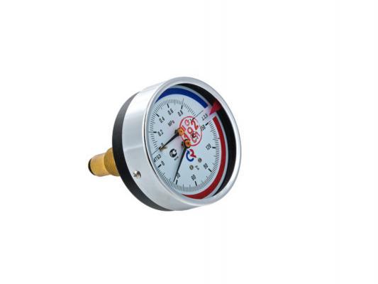 """Термоманометр ТМТБ-31T Dy 80 с задним подключением 1/2"""", 10 бар 0-150*"""