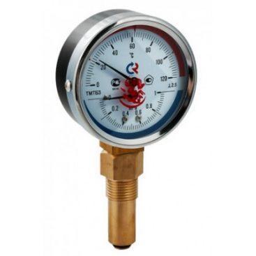 Купить Термоманометр ТМТБ-41Т Dy 100 с задним подключением 1/2 , 6 бар 0-150*, VALTEC