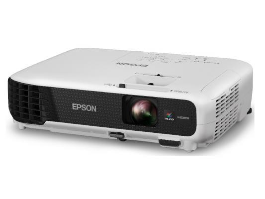 Проектор Epson EB-X04 LCDx3 1024x768 2800ANSI Lm 15000:1 VGA HDMI S-Video USB V11H717040 проектор epson eb s6 пульт