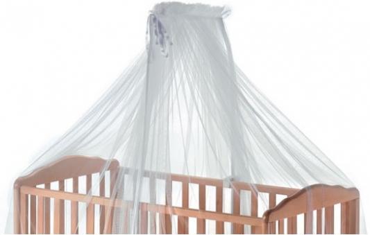 Круговой тюлевый балдахин на кроватку Italbaby (белый/820,0000-5)
