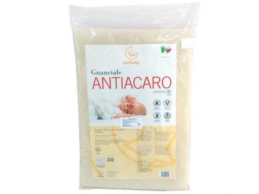 Подушка в кроватку 38х58см Italbaby Antiacaro(белый/020,3200-)