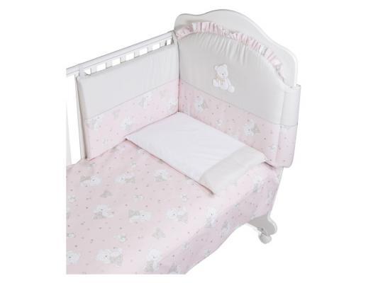 Постельный сет Italbaby Baby Glitter (розовый/100,0030-1)