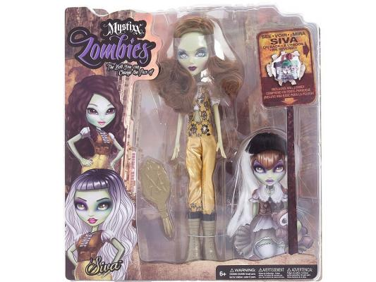 Кукла Mystixx Zombie Siva 29 см 37473 куклы и одежда для кукол mystixx кукла zombie азра