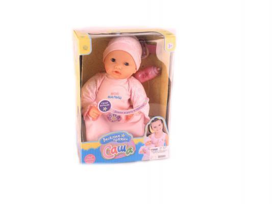 Кукла Shantou Gepai Саша. Веселые прятки 34 см говорящая смеющаяся с мимикой 5278