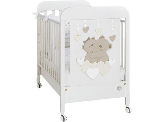Кроватка Baby Expert Tenerezze (белый/светло-коричневый)