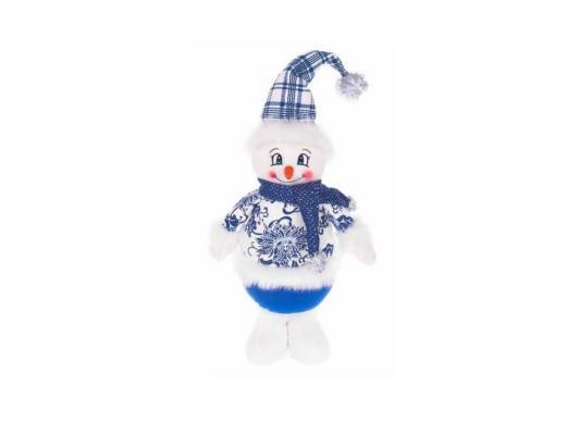 Кукла Новогодняя сказка Снеговик 35 см мягкая 972012
