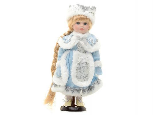 Кукла Angel Collection Снегурочка в голубом Новогодняя сказка 30.5 см фарфоровая 971042