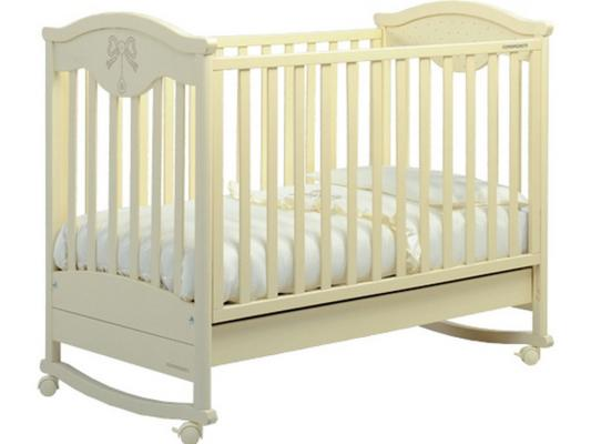 Кроватка-качалка Foppapedretti Charmant (слоновая кость) кроватка foppapedretti fred lettino разноцветный