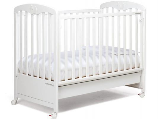 Кроватка Foppapedretti Luccichino (белый)